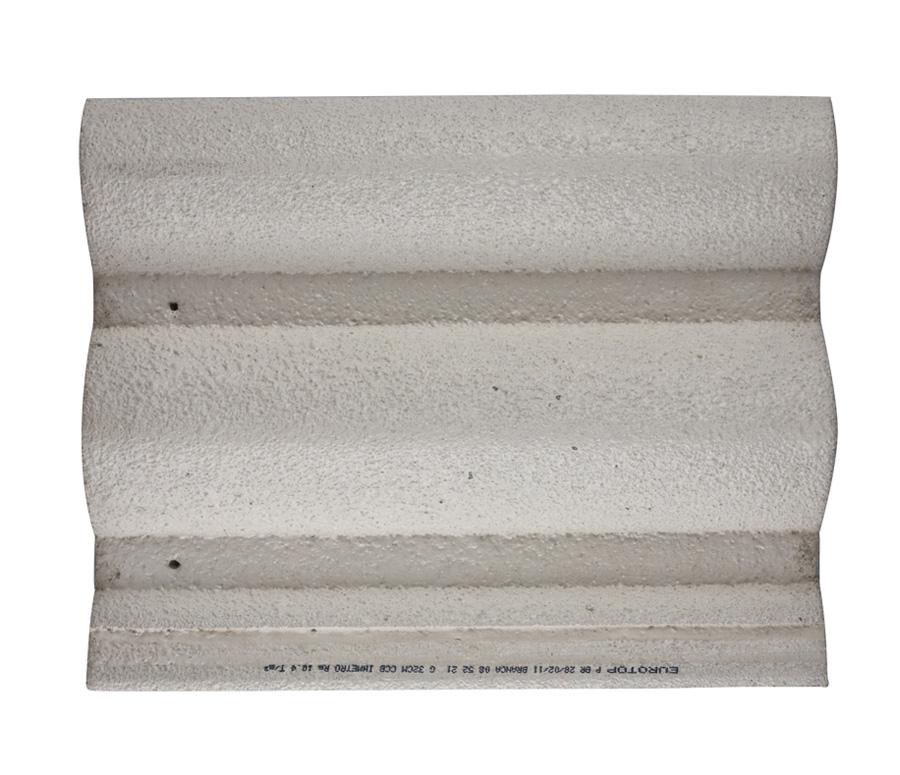Telha Concreto Branca