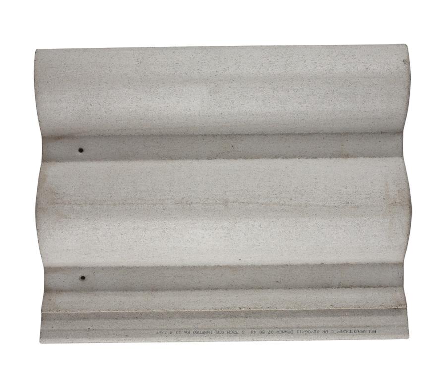 Telha de Concreto Branca Clássica
