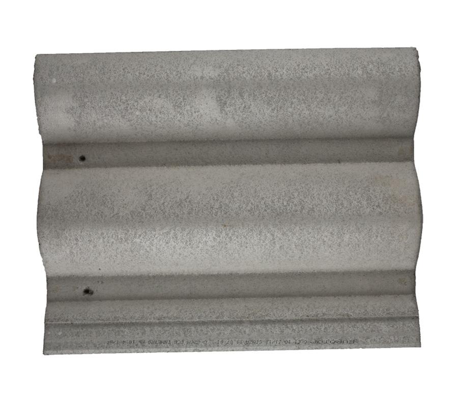 Telha de Concreto Cinza