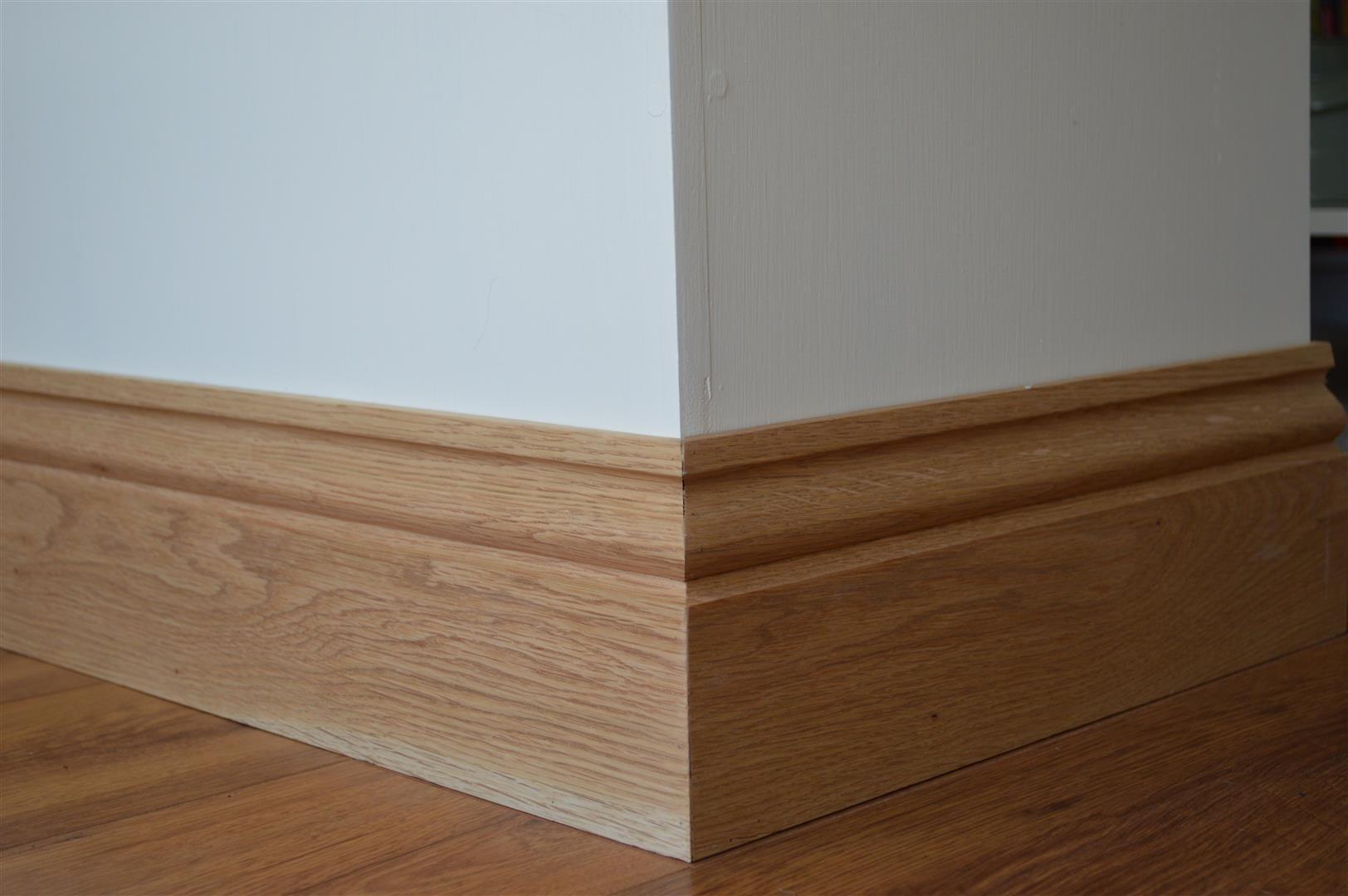 Como instalar rodapé de madeira
